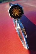 Bonneville Pictures Photos - 1976 Pontiac Bonneville Hood Ornament by Jill Reger