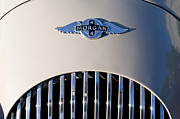 1977 Photos - 1977 Morgan Plus 4 Hood Emblem by Jill Reger