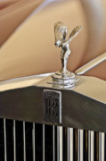 Car Mascot Framed Prints - 1978 Rolls-Royce Hood Ornamaent Framed Print by Jill Reger