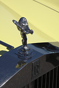Wraith Framed Prints - 1978 Rolls Royce hood ornament Framed Print by Cristina Lichti