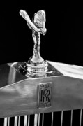 Car Mascot Framed Prints - 1986 Rolls-Royce Hood Ornament 2 Framed Print by Jill Reger