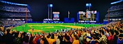World Series Painting Acrylic Prints - 1986 World  Series at Shea Acrylic Print by T Kolendera