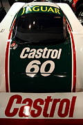 Castrol Posters - 1988 Jaguar XJR-9 Race Car Poster by Wingsdomain Art and Photography