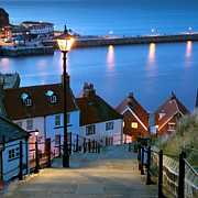 Whitby Photos - 199 Steps Whitby by John Potter