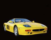 Italian Sports Cars Prints - 1995 Ferrari F512m Print by Jack Pumphrey