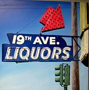 19th Ave Liquors Print by Jim Gleeson