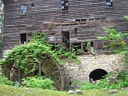 Old Mills Photos - 19th Century Flour Mill by Don Struke