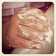 Gwyn Newcombe Photos - 1st Birthday Frosting by Gwyn Newcombe