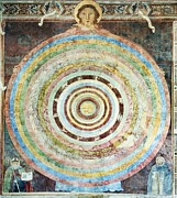 Hierarchy Photo Posters - 14th Century Theological Cosmography Poster by Sheila Terry