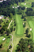 Plymouth Meeting Aerials Prints - 16th Hole Sunnybrook Golf Club Print by Duncan Pearson