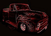 Wild Rose Studio - 1953 Mercury Pickup - Neon