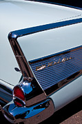 Custom Grill Prints - 1957 Chevy Bel Air Custom Hot Rod Print by David Patterson