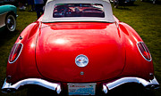 Red Street Rod Photos - 1959 Chevy Corvette by David Patterson