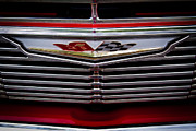 Red Impala Prints - 1961 Chevy Impala Print by David Patterson