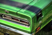 Decals Posters - 1969 Dodge Coronet Super Bee Poster by Gordon Dean II