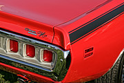 440 Six Pack Prints - 1971 Dodge Charger RT Print by Gordon Dean II