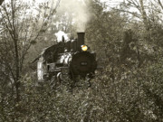 Coal Prints - 2-8-2 Steam Locomotive Print by Scott Hovind