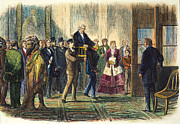 Senate Prints - A. Johnson: Impeachment Print by Granger