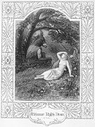 Midsummer Photo Prints - A Midsummer Nights Dream Print by Granger