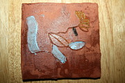 Africa Ceramics Ceramics - Abandon - Tile by Gloria Ssali