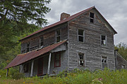 Residential Structure Posters - Abandoned Homestead Poster by John Stephens