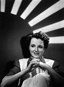 Films By John Huston Prints - Across The Pacific, Mary Astor, 1942 Print by Everett
