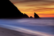 Inspire Metal Prints - Adraga Beach in Sintra Natural Park Metal Print by Andre Goncalves