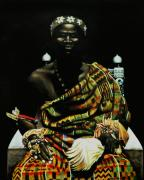 Black History Paintings - African Prince by Henry Frison