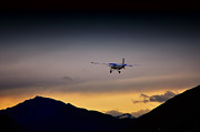 Airplane Prints - Airplane Print by Mats Silvan