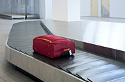 Conveyor Belt Posters - Airport Baggage Claim Poster by Jaak Nilson