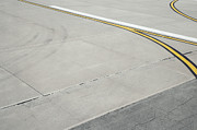 Air Travel Photos - Airport Tarmac by Shannon Fagan