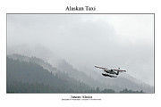 Signed Photo Framed Prints - Alaskan Taxi Framed Print by William Jones