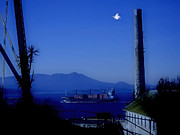 Alcatraz Art - Alcatraz by Moonlight by Douglas Barnard