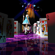 Hall Way Photos - Alice in Wonderland by Oleksiy Maksymenko