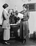 Swearing In Prints - Alice Paul (1885-1977) Print by Granger
