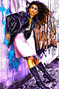 Gloves Digital Art - Alley Wind by Halstan Williams