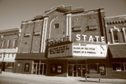 State - Alpena Michigan - State Theater by Frank Romeo