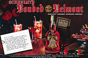 Bonded Framed Prints - American Whiskey Ad, 1938 Framed Print by Granger