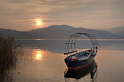 Sunset Light Photos - an evening at the Lake Maggiore by Joana Kruse