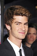 Arclight Hollywood Cinerama Dome Prints - Andrew Garfield At Arrivals For The Print by Everett