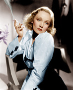 1930s Movies Prints - Angel, Marlene Dietrich, 1937 Print by Everett