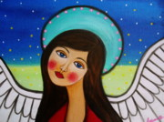 Angel Print by Pristine Cartera Turkus