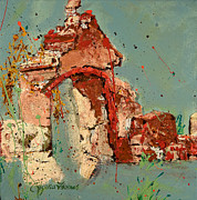 Ruins Mixed Media Originals - Another Time by Regina Thomas