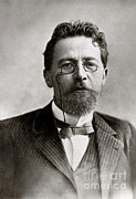 Anton Photos - Anton Chekhov, Russian Physician by Photo Researchers