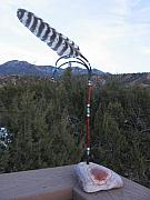 Mexico Sculptures - Apache wind vane by Jeff Ross