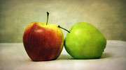 Nature Art Posters - Apples Poster by Kristin Kreet