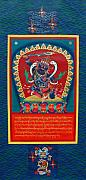 Thangka Prints - Arya Achala - Immovable One Print by Sergey Noskov