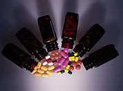 Assorted Posters - Assorted Pills Poster by Andrew Lambert Photography