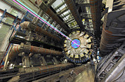 Fundamental Prints - Atlas Detector, Cern Print by David Parker