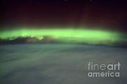 2001 Framed Prints - Aurora Borealis Framed Print by NASA / Science Source